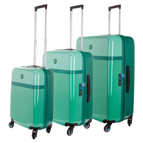 4c8f055fca05f Zestaw trzech walizek na kółkach Secret Garden - BG Berlin